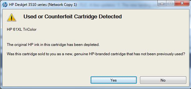 HP printers -